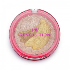 MAKEUP REVOLUTION Fruity Highlighter Rozświetlacz Banana