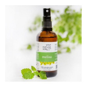 Your Natural Side, Melisa lekarska, Naturalna woda, spray, 100 ml