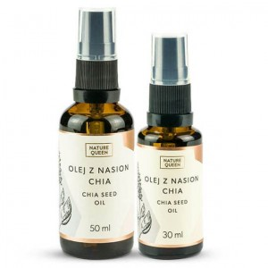 NATURE QUEEN Olej z Nasion Chia  50 ml