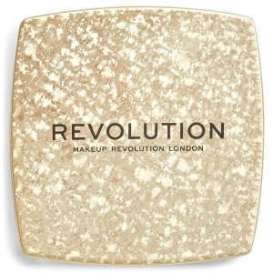 MAKEUP REVOLUTION Jewel Collection Rozświetlacz do twarzy Monumental ZŁOTY - 8,5 g