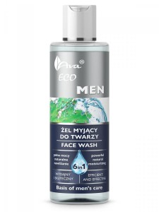 Ava Eco men żel myjacy do twarzy 200 ml