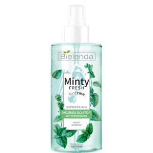 BIELENDA Minty Fresh Foot Care Mgiełka Antyperspirant do stóp 150 ml