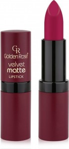 GOLDEN ROSE Pomadka do ust Velvet matte 24 4.2g