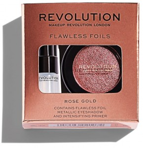 MAKEUP REVOLTUTION Cień foliowy do powiek Rose Gold 2g