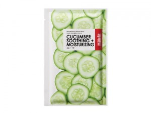 BEAUTY PLANNER CUCUMBER SOOTHING+MOISTURIZING MASK