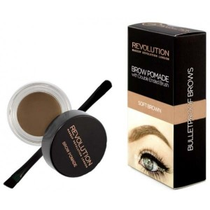 MAKEUP REVOLUTION Pomada Soft Brown