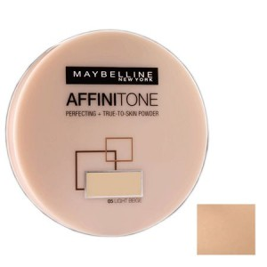 Maybelline New York Affinitone Powder Puder do twarzy nr 42 dark beige 9 g