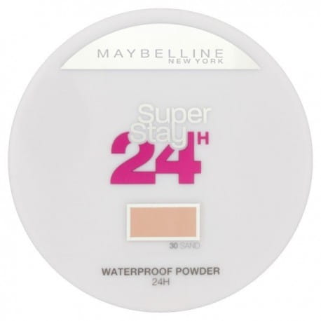 Maybelline Super Stay 24 Longwear Matte Powder Waterproof Puder matujący 30 Sand 9g.jpg